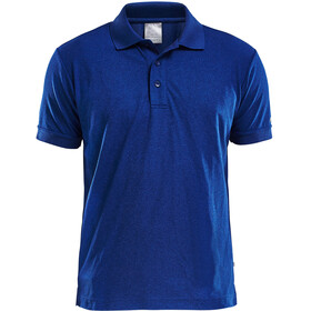 Craft Classic Polo Pique Shortsleeve Shirt Men blue